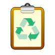 small bin icon for recycling